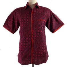 Hem Batik Exclusive Slim Fit 5-HM3008-Merah