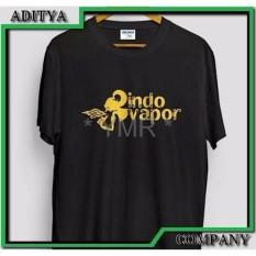 Hemat Kaos Tshirt Gildan 24S Sablon Indo Vapor Vapor Vape Vaping Best Produk