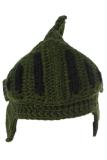 Ulasan Tentang Laki Laki Perempuan Tangan Knit Beanie Roman Knight Hat Masker Cap Tentara Hijau Intl Hengsong