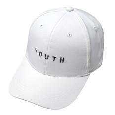 Spesifikasi Hengsong Youth Baseball Wanita Katun Huruf Topi Putih Yg Baik