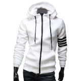 Beli Hequ Model Hoodie Pria Berkualitas Tinggi Merek Pakaian Santai Pria Sweatshirt Kasual Ritsleting Jaket Bertudung Putih Di Hong Kong Sar Tiongkok