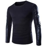 Harga Hequ Baru Berkualitas Tinggi Pria Merek Musim Gugur O Leher Baju Switer Jumper Dipadu Dirty Sweat Original