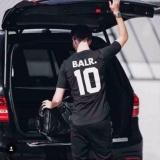 Ongkos Kirim Hequ Fashion T Shirt Balr T Shirt Mens Soccor Top Football Sport T Shirt Hitam Intl Di Hong Kong Sar Tiongkok