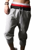 Jual Hequ Pria Sports Pants Harem Training Dance Longgar Pelari Celana Celana Pendek Kasual Celana Celana Panjang Grey Antik