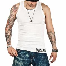 Hequ Tank Muscle Tops Men Bodybuilding Casual Print Undershirt Muscle Vest Fashion Clothing High Quality Intl Hequ Diskon 50