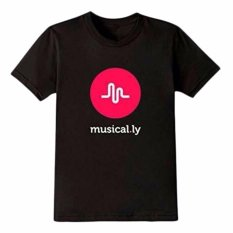 Top 10 Hequ Womens Cotton Musical Ly Logo Music Fans T Shirts Tee Summer Fashion Short Sleeve Teenager Clothing Black Intl Online