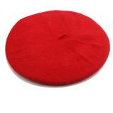 Jual Hequ Campuran Wol Topi Baret Topi Kupluk Merah Hequ Original