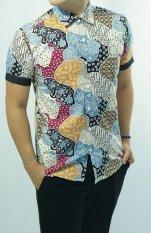 Jual Herman Batik Kemeja Batik Slimfit 992 Baju Fashion Pria Muslim Koko Jeans Di Indonesia