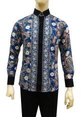 Herman Batik Kemeja Batik Slimfit A9029 Baju Fashion Pria Muslim Koko Jeans