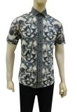Spesifikasi Herman Batik Kemeja Batik Slimfit B7799 Baju Fashion Pria Muslim Koko Jeans Yang Bagus