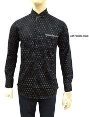 Promo Herman Batik Kemeja Batik Slimfit B8149 Pria Kombinasi Muslim Koko Jeans Akhir Tahun