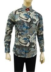 Beli Herman Batik Kemeja Batik Slimfit B9313 Baju Fashion Pria Muslim Koko Jeans Seken