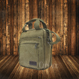 Ulasan Mengenai Hermantech Men Messenger Bag Canvas Vintage Shoulder Crossbody Bags Outdoor Travel Bag Brown