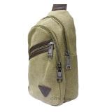 Hermantech Men S Small Military Messenger Shoulder Bag Canvas Backpack Brown Hermantech Murah Di Indonesia