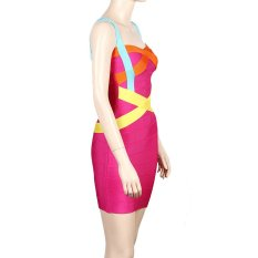 Herve Leger 2015 Sling Dress Up Sexy Slim Dress Party