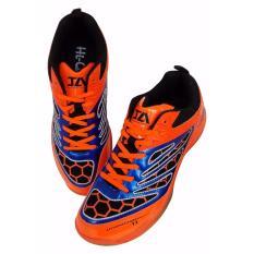 Spesifikasi Hi Qua Interaction Jr Badminton Shoes Orange Terbaik