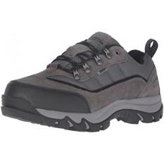 Hi-tec Mens Skamania LAZADA-M Hiking Boot, Dark Chocolate/Hitam/Abu-abu, 9 M KAMI-Internasional