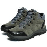 Ulasan Mengenai High End Men S Hiking Shoes Outdoor Waterproof High Quality Hiking Shoes Intl