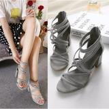 Spesifikasi High Heels Tahu Strappy Ma02 Abu Terbaru
