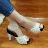 Daftar Harga High Heels Wanita Terbaru Sendal Sepatu High Heels Wanita Terbaru Sendal Sandal Termurah Sepatu Wanita Dm57 Multi