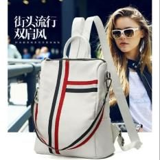 Eagle_Store90 High Quality Backpack Fashion Wanita Premium White
