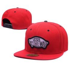 Santai Berkualitas Tinggi VANS_Snapback Cap Adjustable Sport Hat-Intl