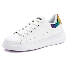 High Quality Children Casual Sport Shoes Kids Fashion Skateboard Shoes G*Rl Shoes Boy Shoes Breathable Children Small White Shoes Intl Original