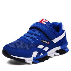 High Quality Children Sport Shoes G*rl Shoes Boy Shoes Breathable Running Shoes Fashion Magic Stickers Sneaker Intl Oem Diskon 30
