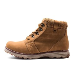 Harga High Quality Men Boots Safety Ankle Boot Pu Leather Work Boots Kasut Lelaki Lelaki Intl Yang Murah Dan Bagus