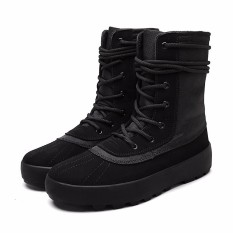 Harga High Quality Men Fashion Boot Male Canvas Work Shoes Kasut Lelaki Lelaki Intl Oem Baru
