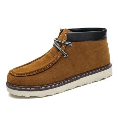 Harga High Quality Men New Fashion Leather High Top Martin Boots Ankle Boots Intl Yang Murah Dan Bagus