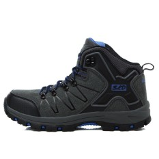 High Quality Unisex Hiking Sepatu Baru Musim Gugur Musim Dingin Merek Outdoor Mens Sport Cool Trekking Wanita Gunung Climbing Sepatu Atletik- Grey Blue-Intl