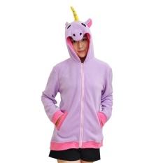 Perbandingan Harga Berkualitas Tinggi Wanita Unicorn Hoodies Kartun Hewan Hooded Mantel Bulu Mantel Jaket Sweatshirts Internasional Di Tiongkok