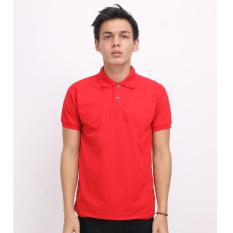 Toko High5 Casual Polo Pria Hot Red Slim Fit Termurah Di Indonesia