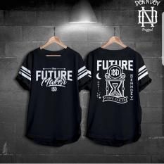 Toko High5 Fashion Pria Kaos Future Maker Hitam Lengkap Indonesia