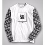 HIGH5 Fashion Pria Kaos Lengan panjang dNd clth putih