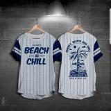 Harga High5 Fashion Pria Kaos Stripes Beach Chill Abu High5