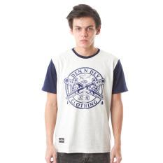 Beli High5 Kaos Denndev Cross Sword Abu Grey Fashion Pria Murah