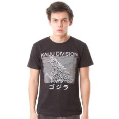 Daftar Harga High5 Kaos Kaiju Division Hitam Black Fashion Pria High5