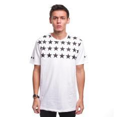 Jual Beli High5 Kaos Pria Bintang Stars Putih White