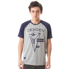 Jual High5 Kaos Raglan Dendev Segitiga Triangle Abu Grey Murah Di Indonesia