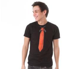 Beli High5 Kaos Red Tie Dasi Merah Casual Hitam Black Fashion Pria Pake Kartu Kredit