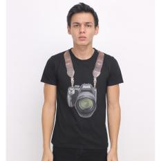 Jual High5 Kaos T Shirt Camera Man Ukuran All Size Hitam Online Di Indonesia