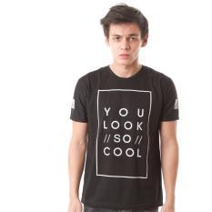 Beli High5 Kaos You Look So Cool Hitam Black Fashion Pria Terbaru