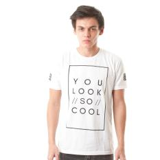 Spesifikasi High5 Kaos You Look So Cool Putih White Fashion Pria Paling Bagus