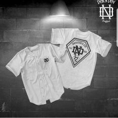 Spesifikasi High5 Kemeja Varsity Dendev 12 Putih White Fashion Pria Terbaru