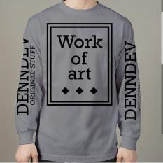 Toko High5 Sweater Work Of Art Abu Grey Fashion Pria Termurah Indonesia