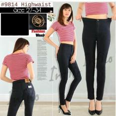 Harga Princess Wardrobe Highwaist Black Jeans Skinny Jeans Celana Jeans Wanita Soft Jeans Jeans Jumbo