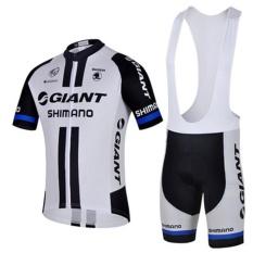 Hign Kualitas Raksasa Shimano Olahraga Luar Ruangan Tim Pro Pria Jersey dan Bib Short Sleeve Bersepeda M Hot Sale- INTL