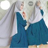 Toko Hijab 2In1 Syari Farida 54 000 Maxi Busui Jersy Plus Pasmina Dnr Online